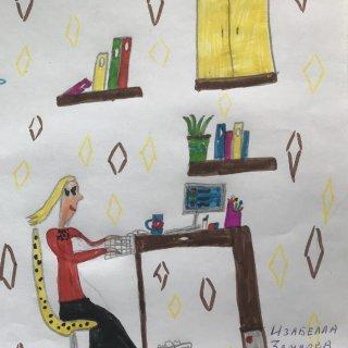 Изабелла Земцова, 8 лет. Мама юрист