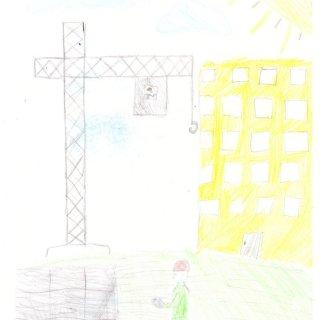 Семёнова Софья, 9 лет. Папа строитель