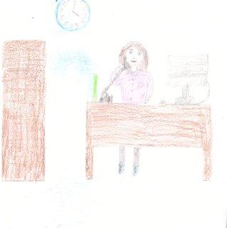 Семёнова Софья, 9 лет. Мама администратор