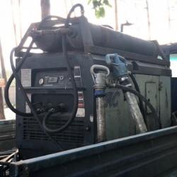 Аренда передвижного компрессора с отбойными молотками