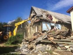 Демонтаж деревянных домов,снос зданий и сооружений